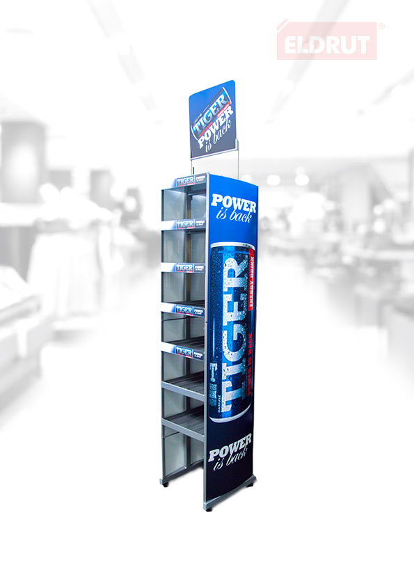 Floor stand for drinks