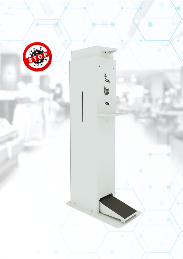 Automatic disinfection 5L stand manufacturer WHITE