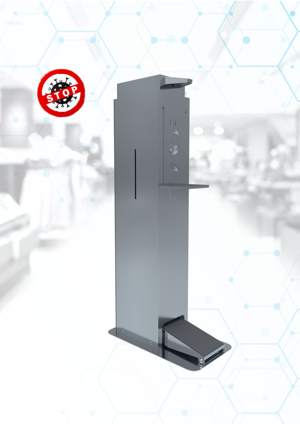 Automatic disinfection 5L stand, stainless steel manufacturer