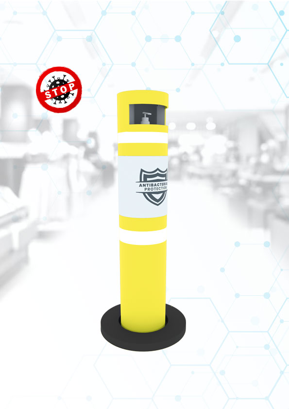 Manufacturer warning disinfection post